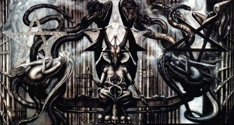 The Spell IV, de HR Giger