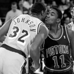 Pistons-Lakers 1988: el día en que un Isiah Thomas cojo casi tumba a Magic y Kareem