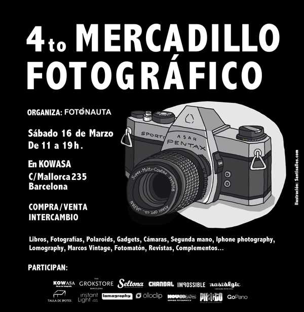 4º Mercadillo fotográfico
