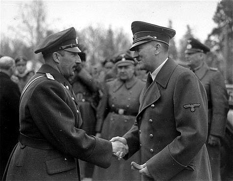 Boris III y Hitler