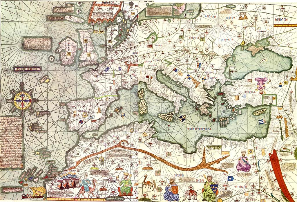 El Atlas Catalán, del año 1375