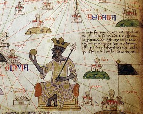 El rey de Malí Musa I