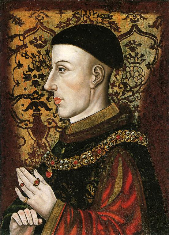 Enrique, menos hermoso de lo que tantas veces nos lo han pintado, y eso que no sale la cicatriz de Shrewsbury