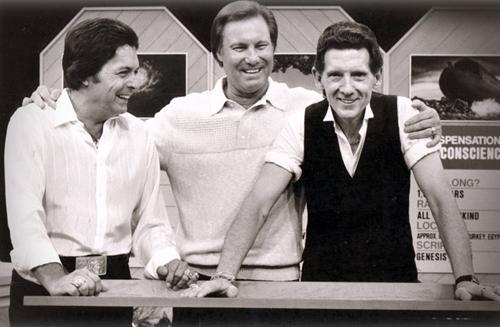 El trío de primos más célebre y estrambótico de América: MIckey Gilley, Jimmy Lee Swaggart y Jerry Lee Lewis