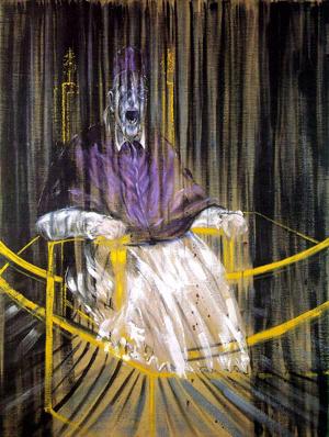 Estudio del retrato del Papa Inocencio X de Velázquez Óleo sobre lienzo (153x118 cm) Francis Bacon (1953)