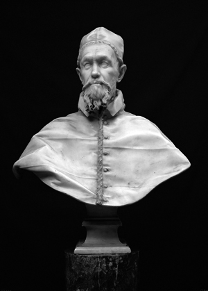 Inocencio X Busto de mármol Gian Lorenzo Bernini (1650)