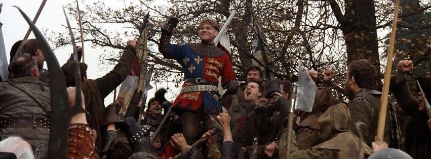 Kenneth Branagh como Henry V