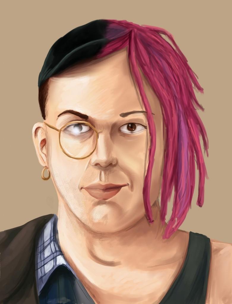 Larry-Lana, una ilustración de Paola Szkudlarek