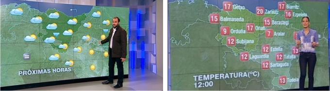 Mapa del tiempo ETB antes y después