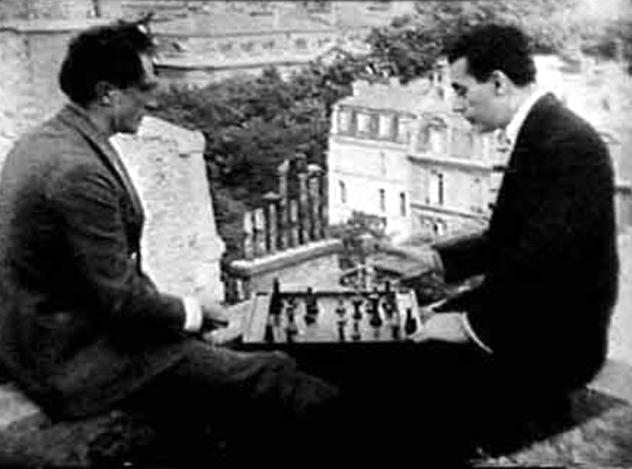 Marcel Duchamp y Man Ray