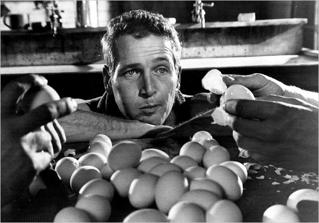 Paul Newman como Cool Hand Luke
