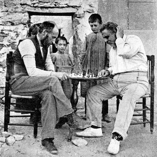Ramón y Cajal y Federico Oloriz p