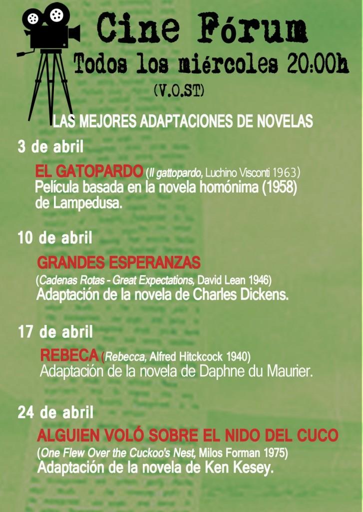 3 Cine Forum La Puerta de Tannhauser