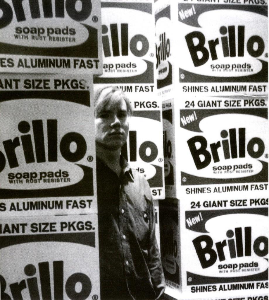 Andy Warhol y la Caja Brillo