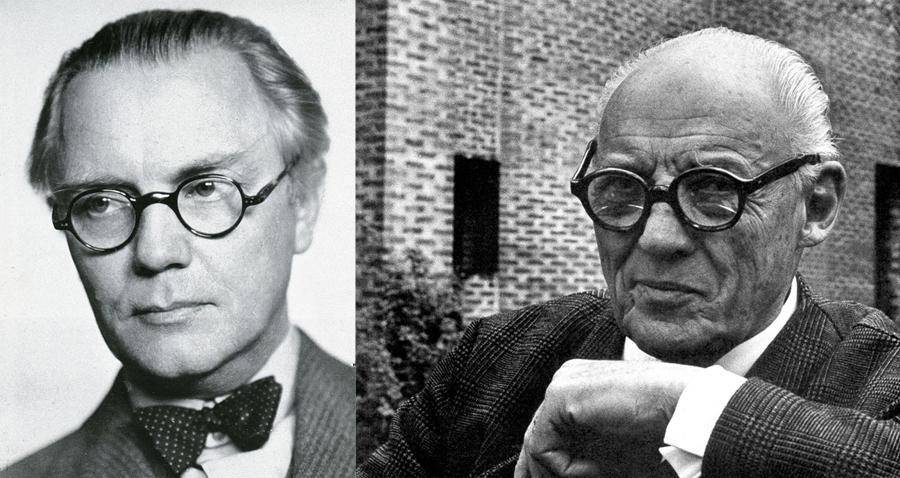 Asplund en 1940 y Lewerentz en 1962.