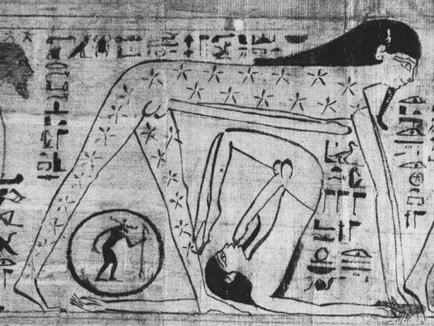 GEB (Geb, nieto de Atum, junto a Nut)