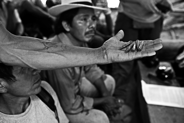 Guatemala, the confiscated transition