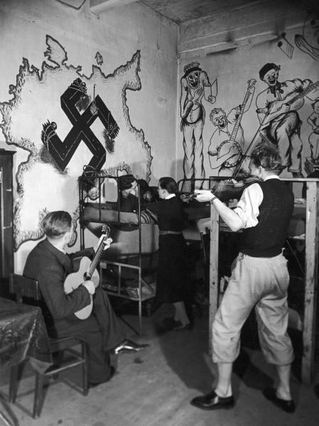 Jazz y nazismo - refugiados judíos en un sótano parisiense
