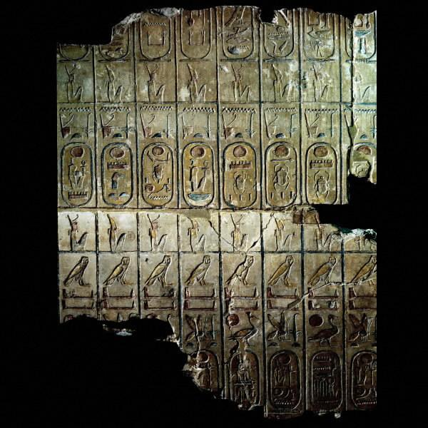 Manetón estudió inscripciones con listas de monarcas; así dividió la historia de Egipto en Dinastías.