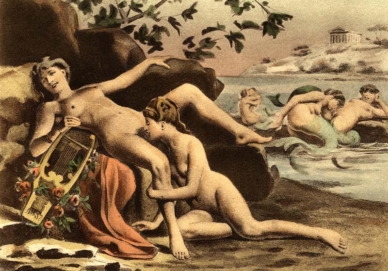 SIRENAS (Édouard-Henri_Avril)