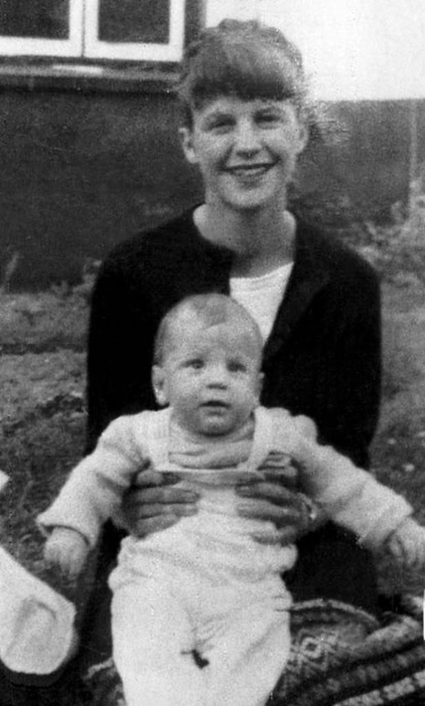 Sylvia Plath con Nicholas