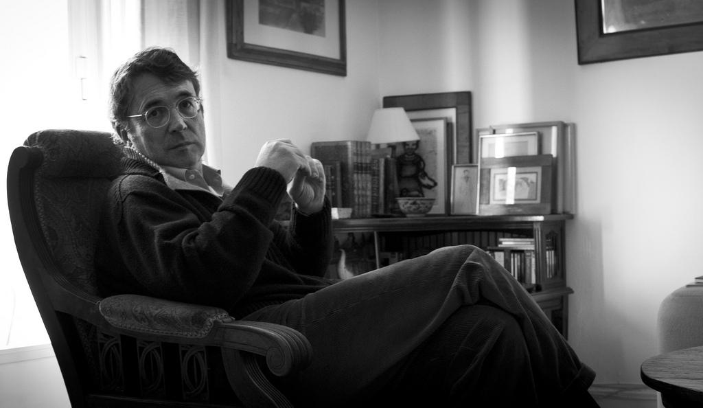 AndrésTrapiello para Jot Down - Fotografía de Javier Villabrille