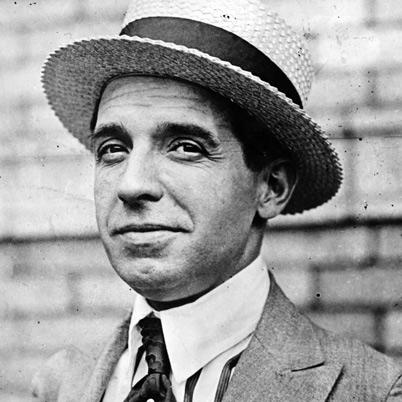Durante un tiempo la fortuna sonrió al ambicioso Ponzi.