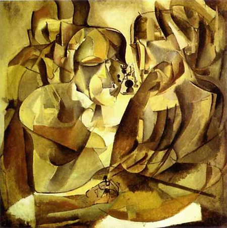 Duchamp Portrait-of-Chess-Players-(1911)