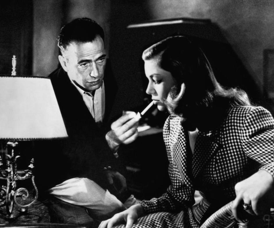 Humphrey Bogart y Lauren Bacall 2