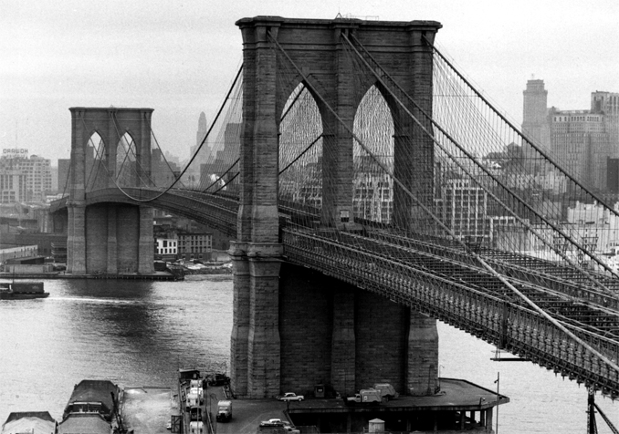 Puentes colgantes (II): la fabulosa historia del Puente de Brooklyn