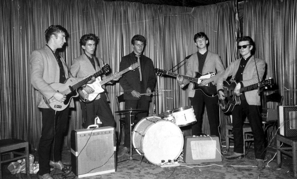 The Beatles en el Indra Club