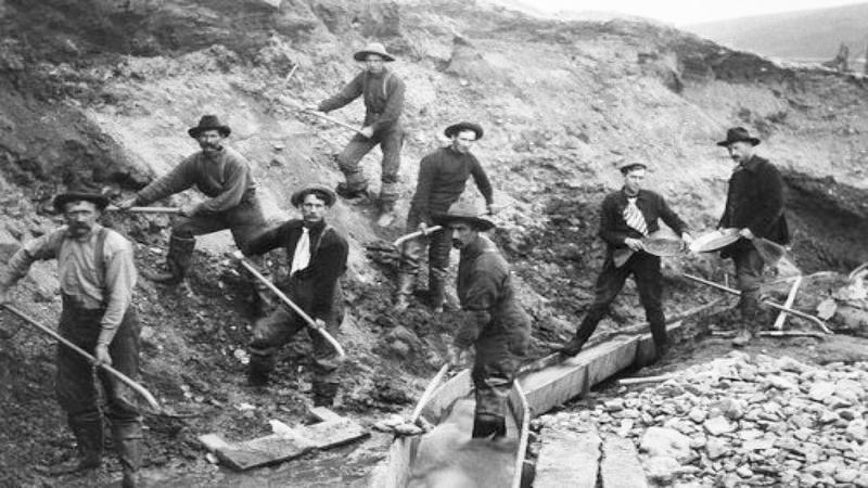Buscadores de oro en San Francisco