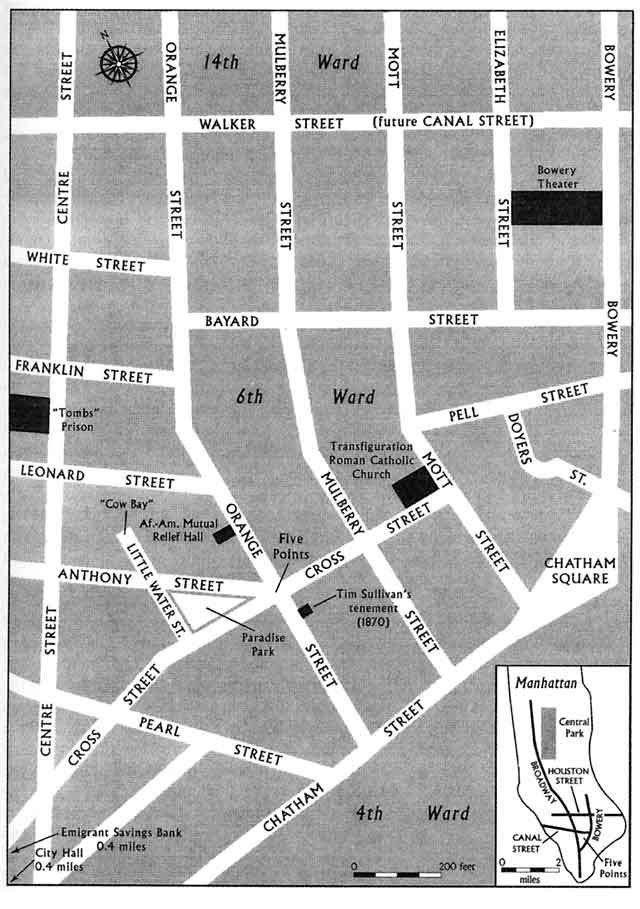 Five Points mapa antiguo II Wikimedia Commons