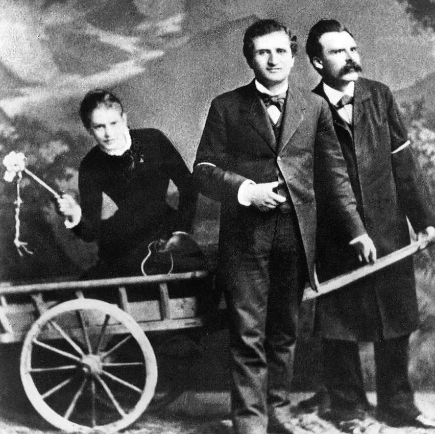 Lou Andreas-Salomé, Paul Rée y Nietzsche
