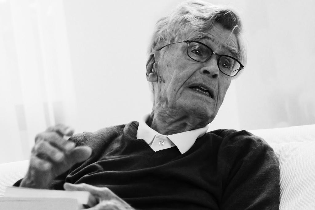 """Mario Bunge: """"La mayor parte de los filósofos actuales se ocupa de menudencias"""""""