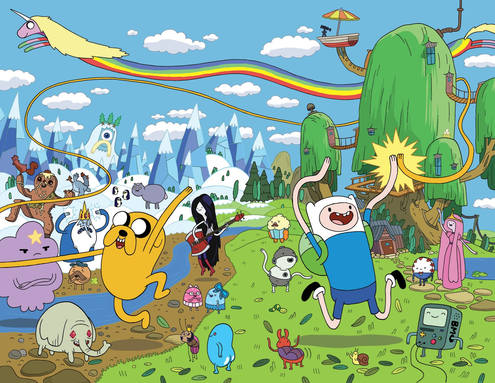 All Adventure Time