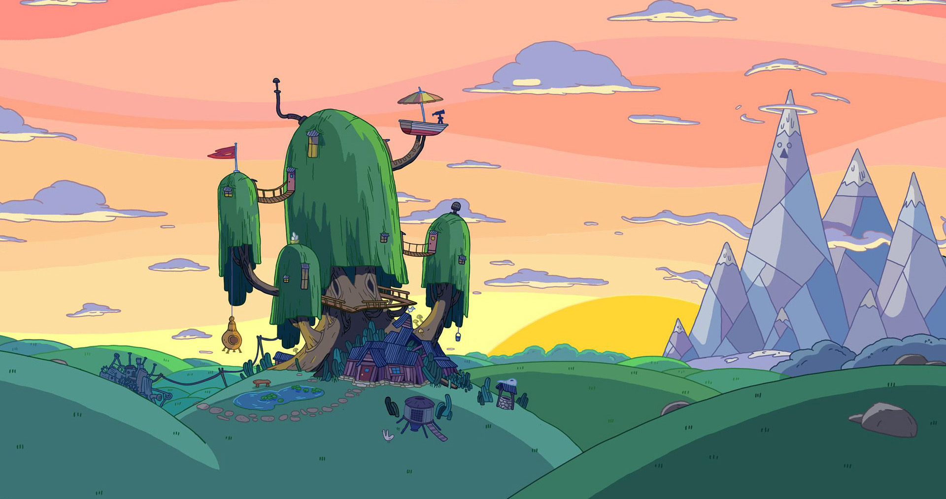 futurama wallpaper hd 1920x1080