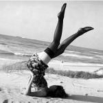 Clara Grima: Con medias y a lo loco