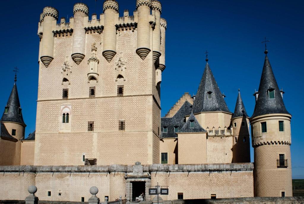 Alcazar de Segovia, inspiró el castillo de la Cenicienta de Disney - Fotografía de Guadalupe de la Vallina