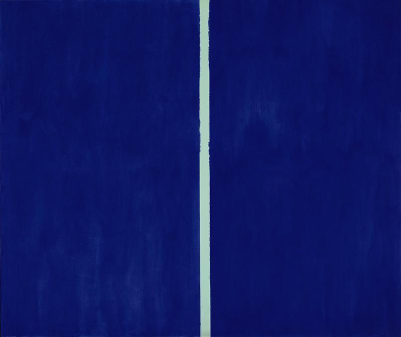 Barnett Newman. Onement VI (1953)