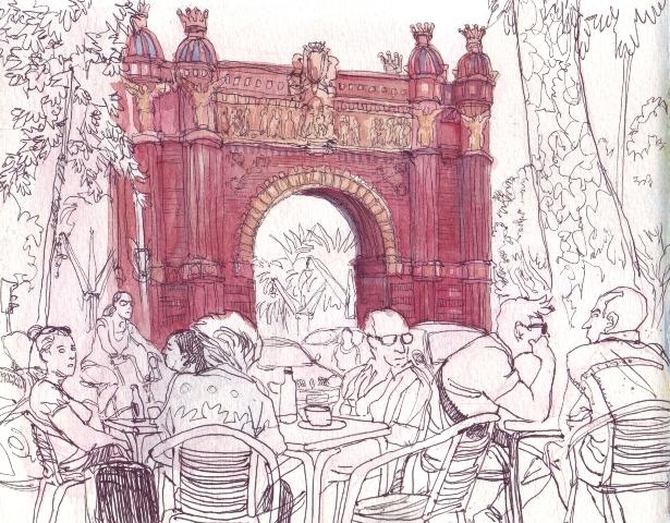 Dibujos En Libretas Ii: II Concurso De Dibujo Urbano En Libreta