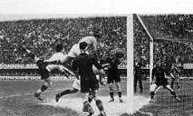 Imagen del gol italiano