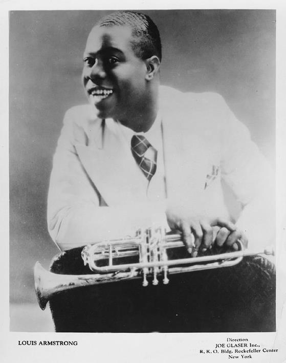 Louis Armstrong joven