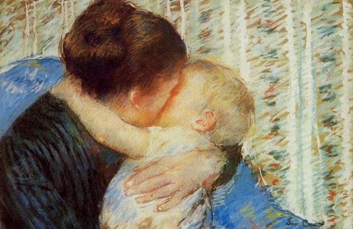 Madre e hijo, de Mary Cassatt
