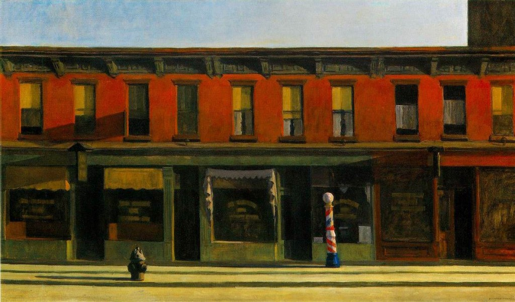 early-sunday-morning, de Edward Hopper