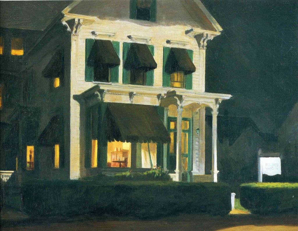 rooms-for-tourists Edward Hopper