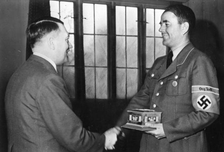 Adolf Hitler y Albert Speer 2