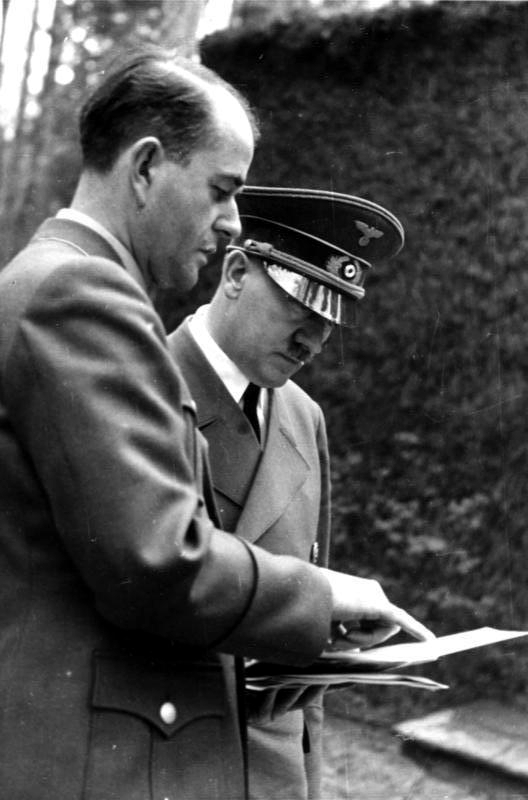 Adolf Hitler y Albert Speer 4