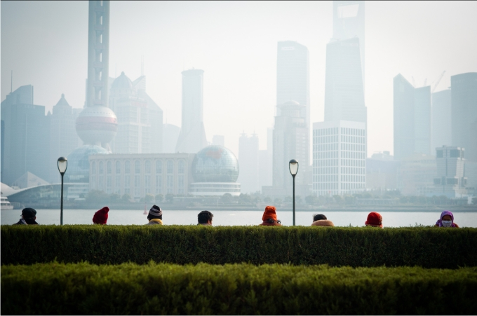 Desde Puxi a Pudong
