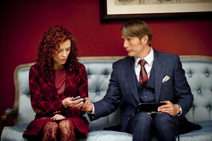 Otro de los cambios en el rebooth de Hannibal: el periodista Freddie Lounds (Lara Jean Chorostecki) resulta ser una mujer